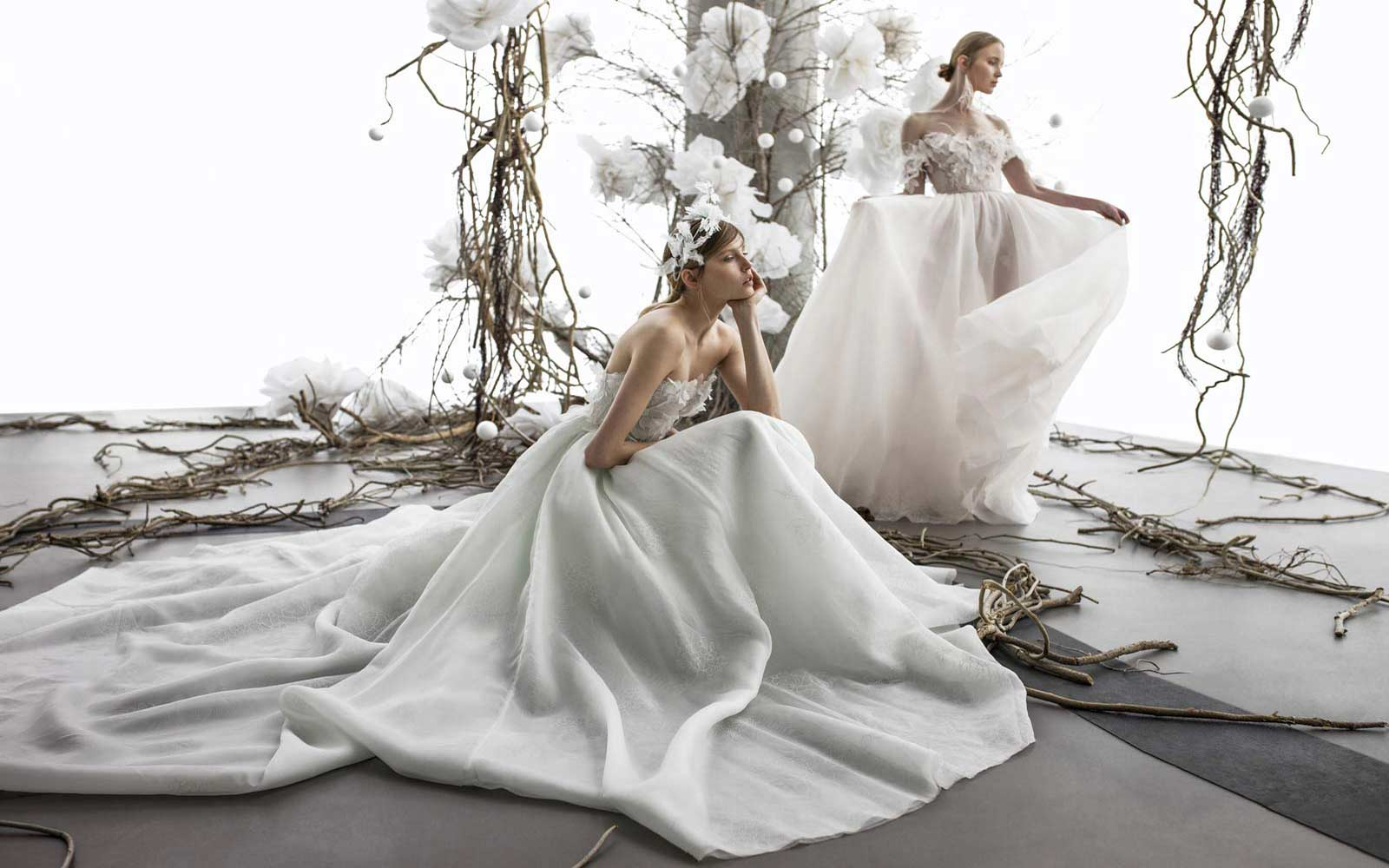 Mira Zwillinger Wedding Dress Collection Trunk Show