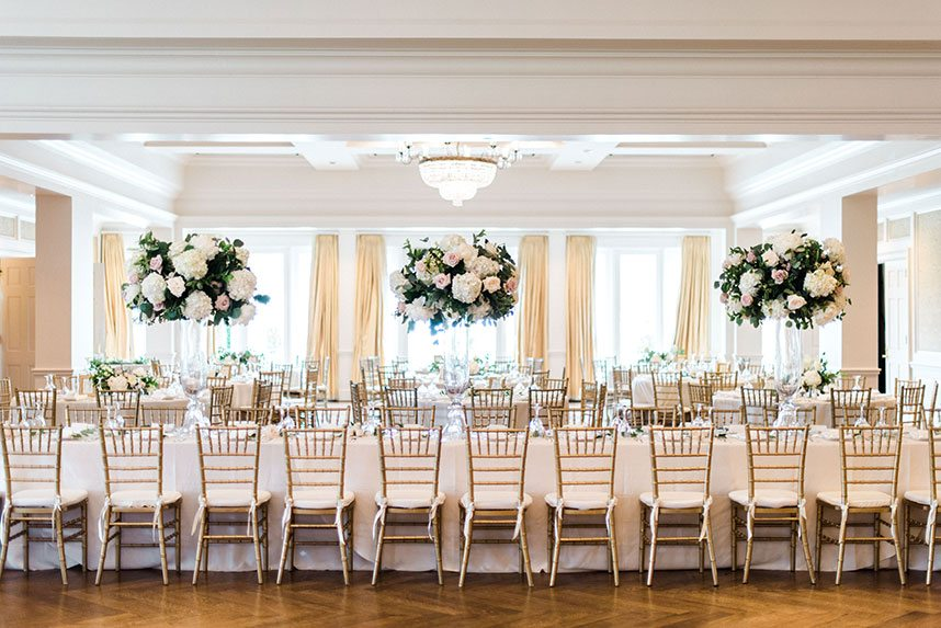 Classic And Elegant Country Club Wedding By Sparkle Shine Events