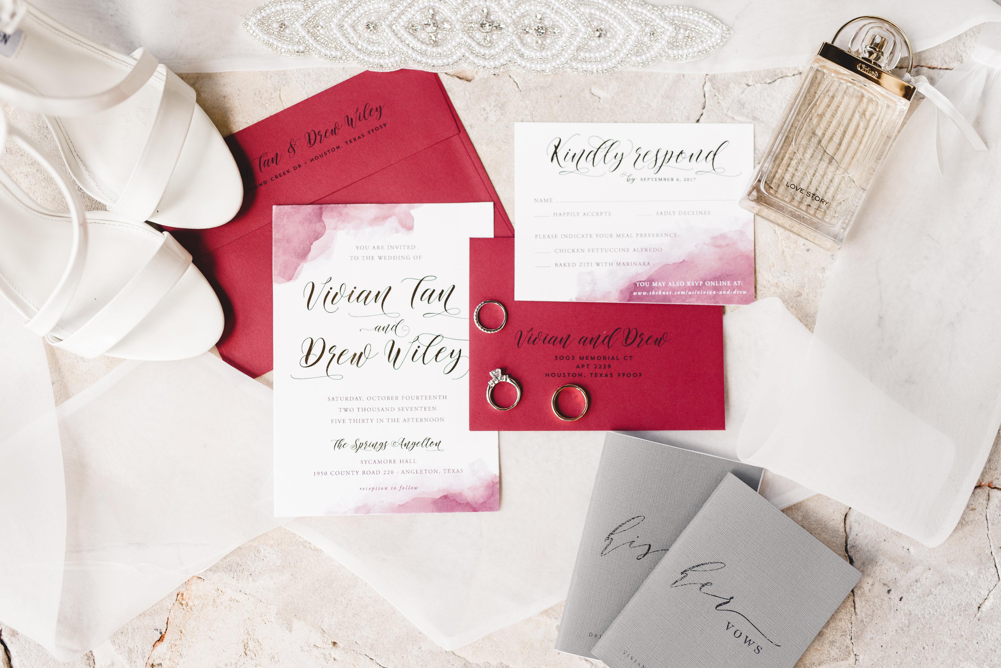 Paper Tie Affair - Brides of Houston
