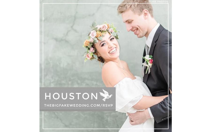 Houston Bridal Show Big Fake Wedding Houston