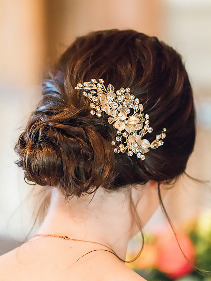 bridal hairpiece makeup by addie-hair-by callie elizabeth houston