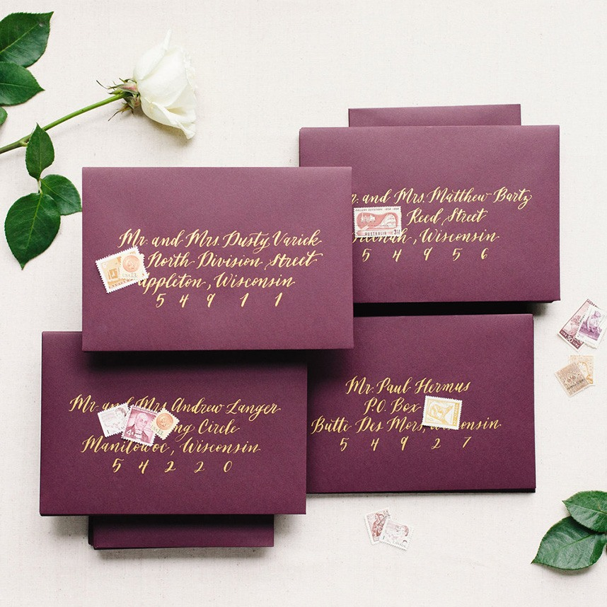 Dreams and Nostalgia - Houston Wedding Invitations