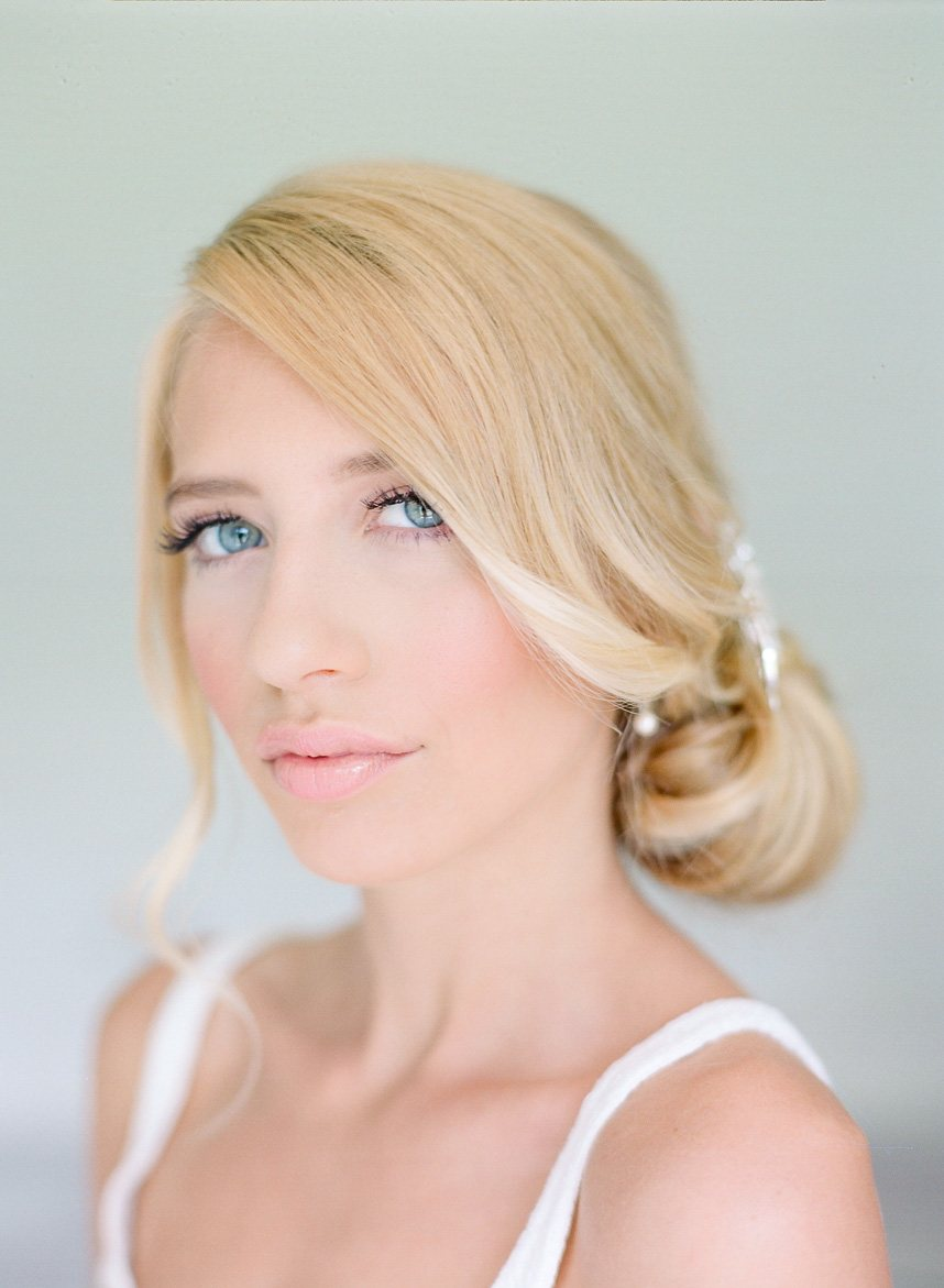 easy wedding hairstyle from hey lovely makeup photographed by dana fernandez photography