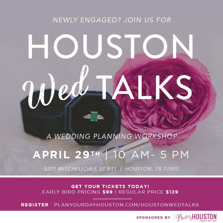 Houston Wed Talks Wedding Planning Workshop