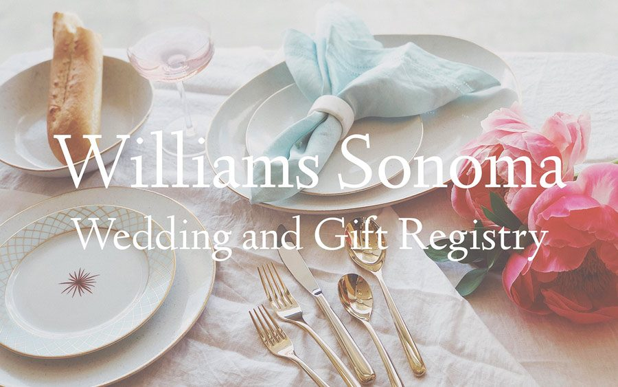 william sonoma registry houston wedding event