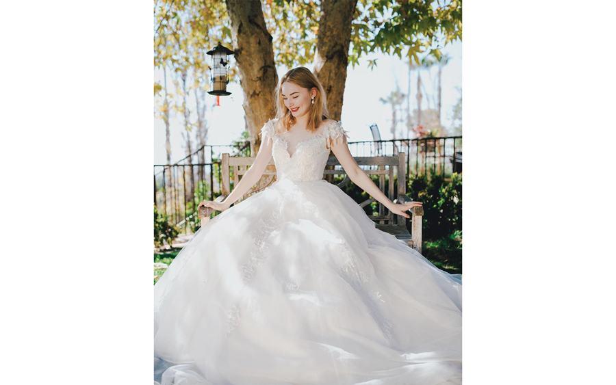 Evelyn Trunk Show Houston bridal boutique brickhouse bridal