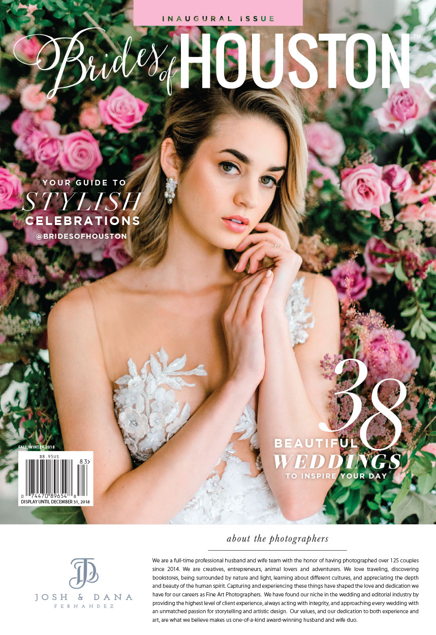 Brides of Houston Inaugural Issue Cover Revealed!