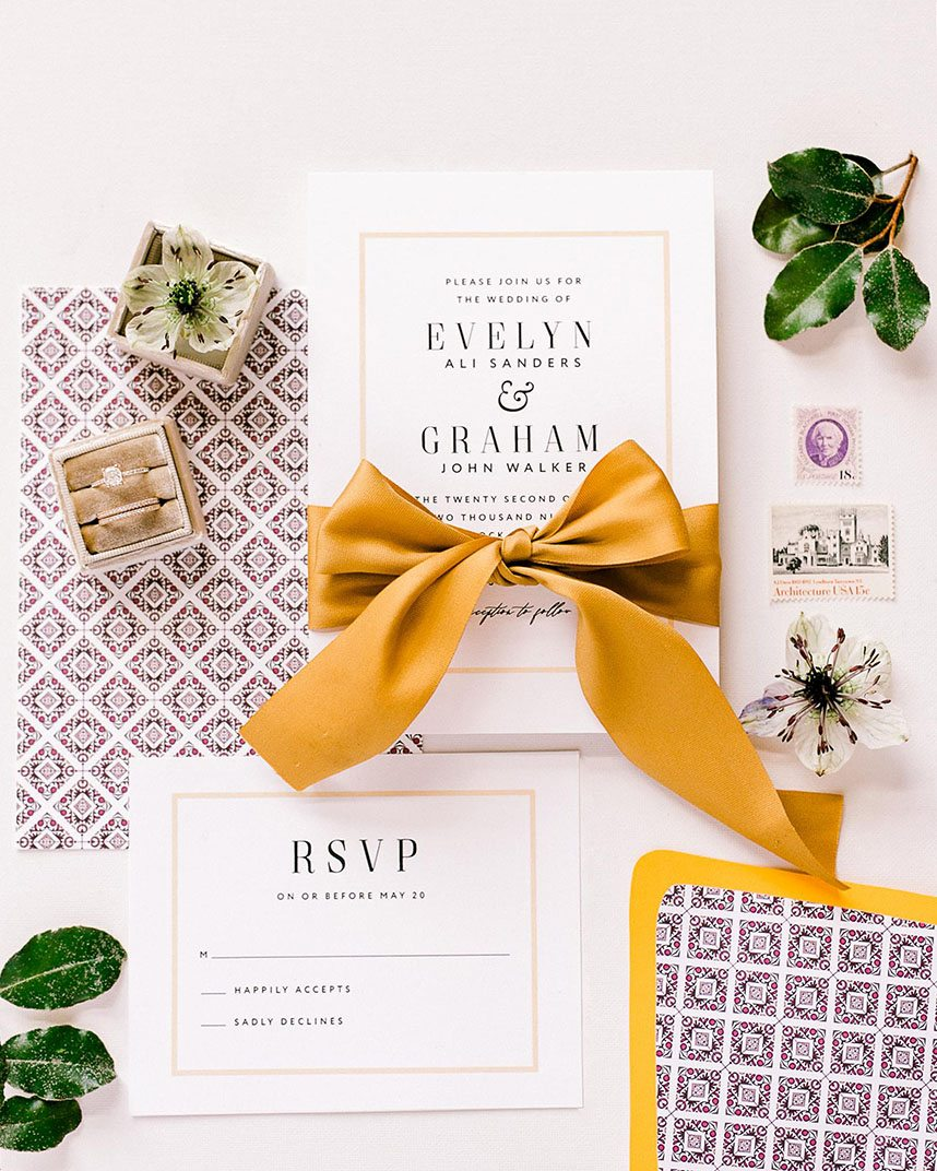 houston wedding invitation designers