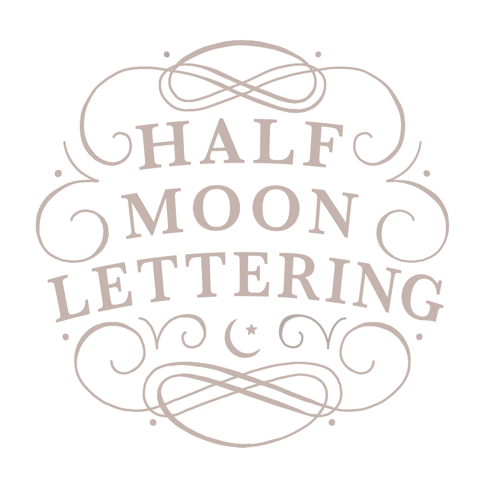 Half Moon Lettering - Houston Calligraphy, Invitations