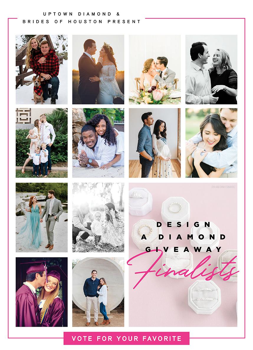 Design a Diamond Giveaway Finalists - Uptown Diamond Jewelry