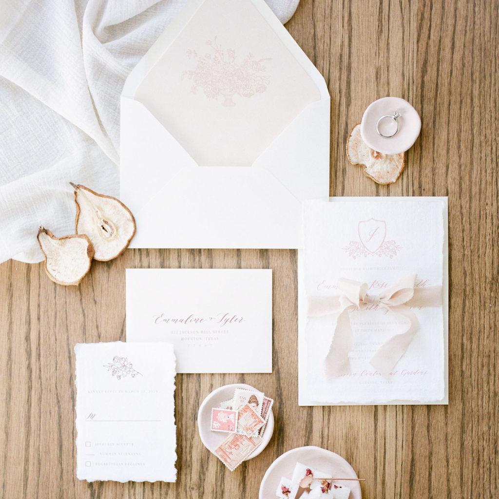 Dreams and Nostalgia - Houston Wedding Invitations