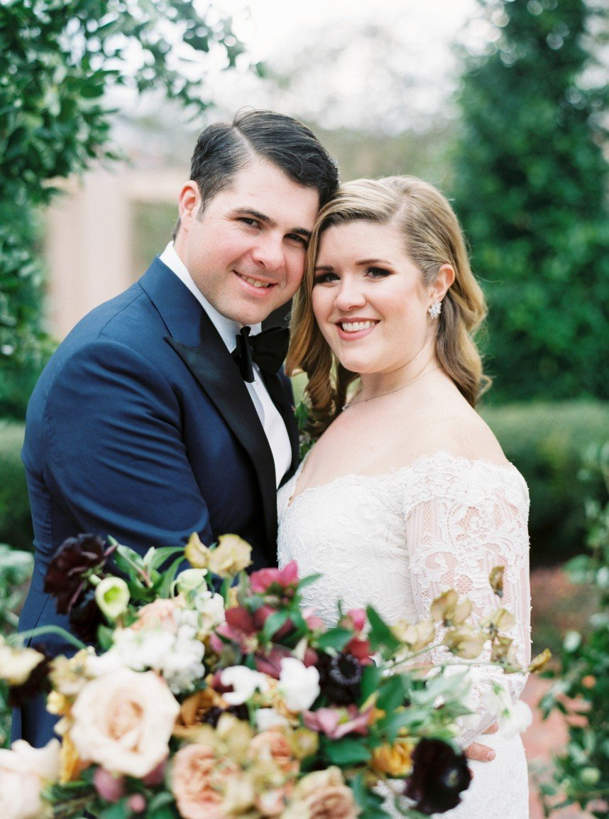 brassy and blue wedding walkthrough with houston wedding planner jennifer laura design
