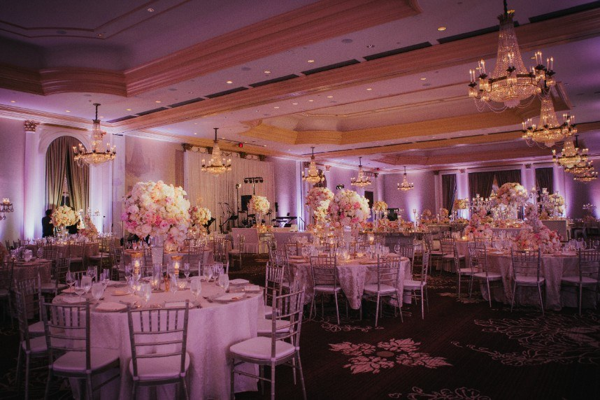 luxe traditional ballroom wedding from houston wedding planner events by sarah