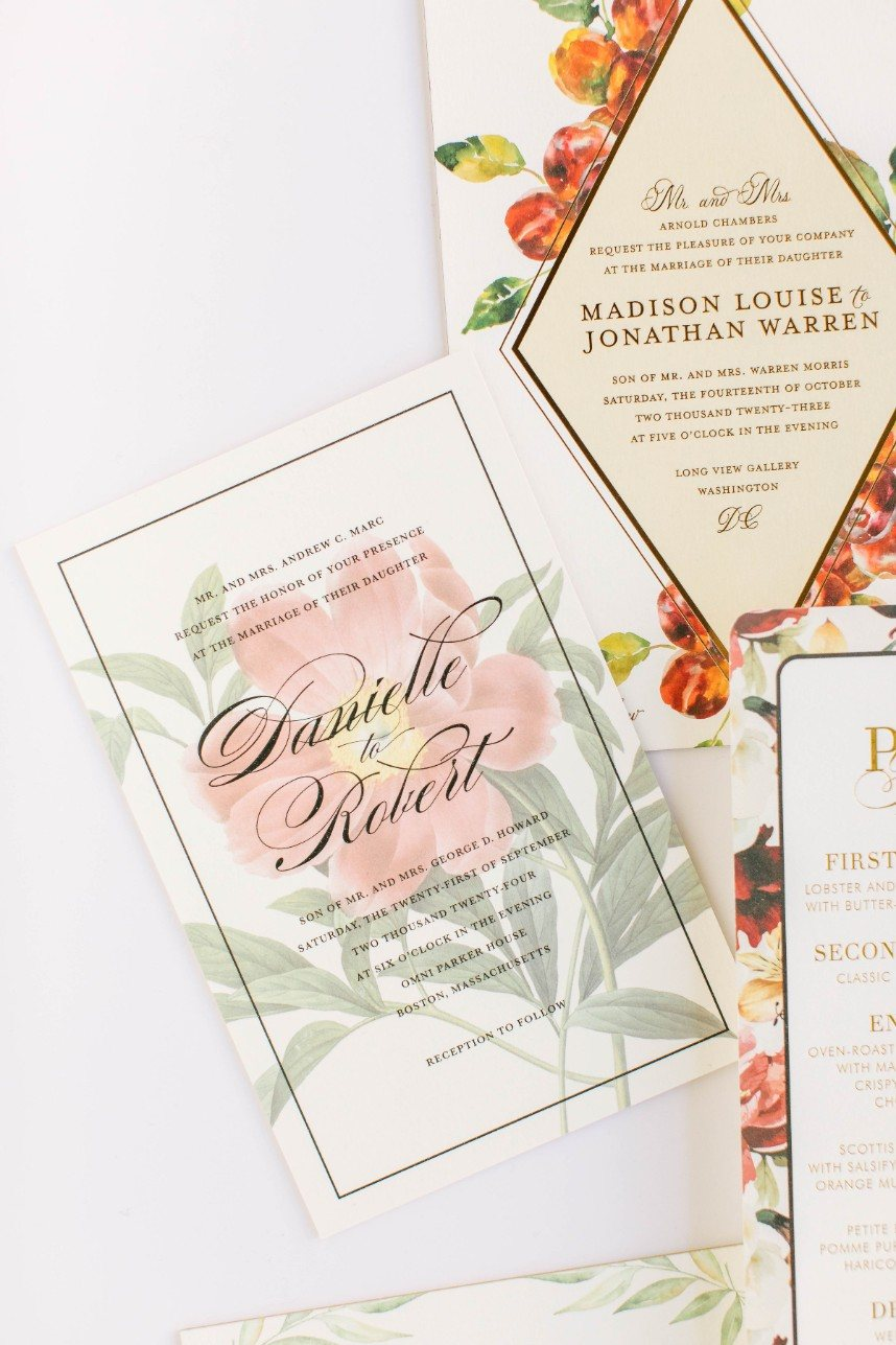 houston wedding stationery designer bering's
