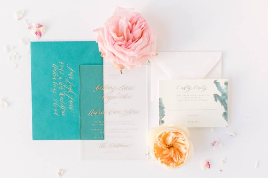houston wedding invitation designer memory lane paperie