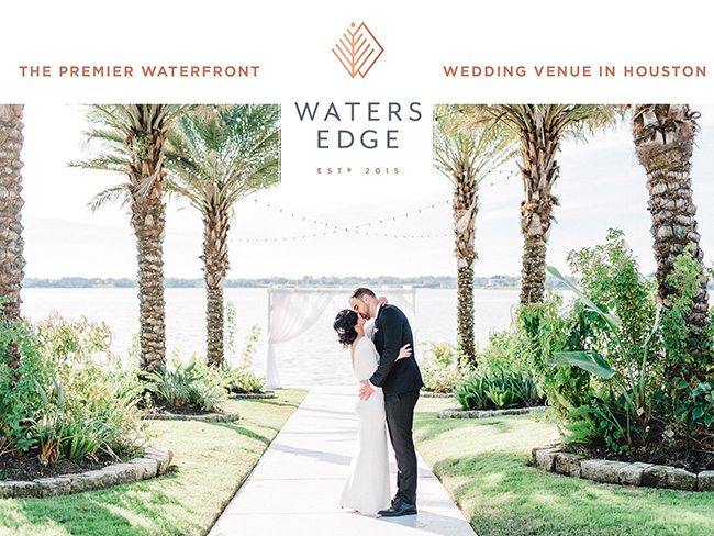 Houston Waterfront Wedding Venue - Waters Edge
