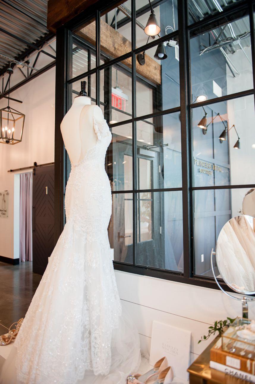 princess bridal showroom