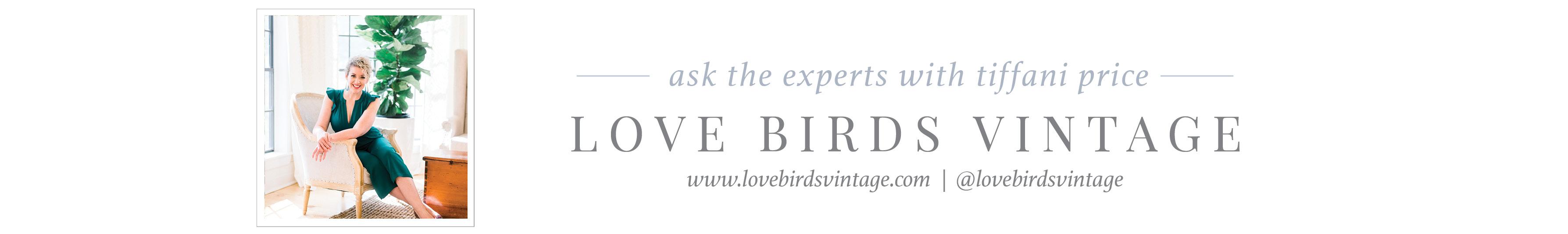 love birds vintage