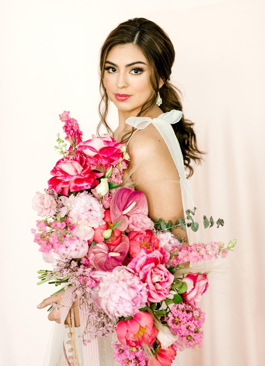 mibellarosa pink bouquet