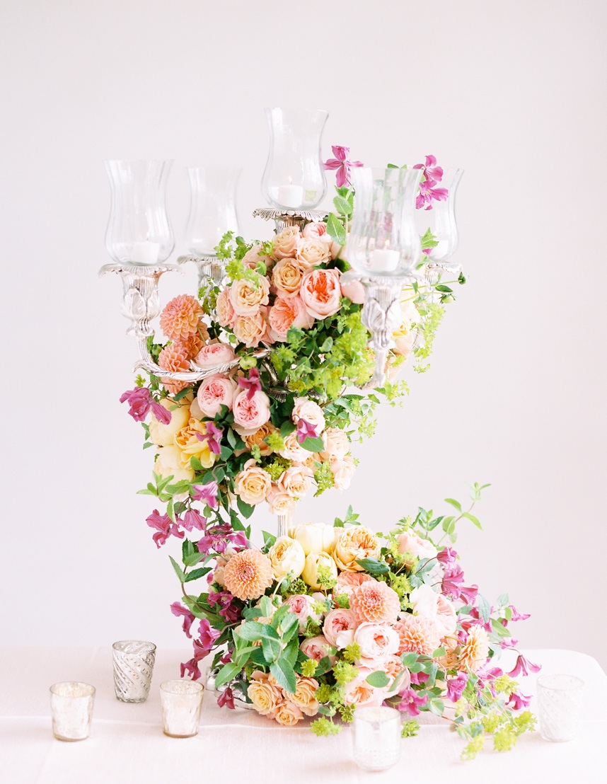 swift and co candelabra centerpiece