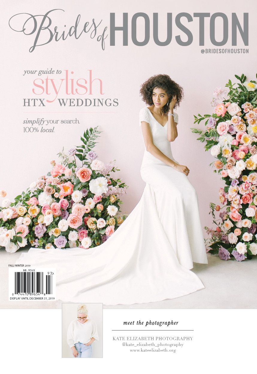 brides of houston fall/winter 2019 cover reveal