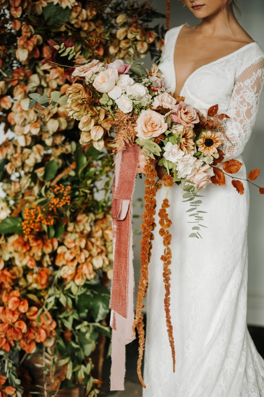 Fall Style Roundup: 5 Shoots Any Couple Planning a Fall Wedding Should See