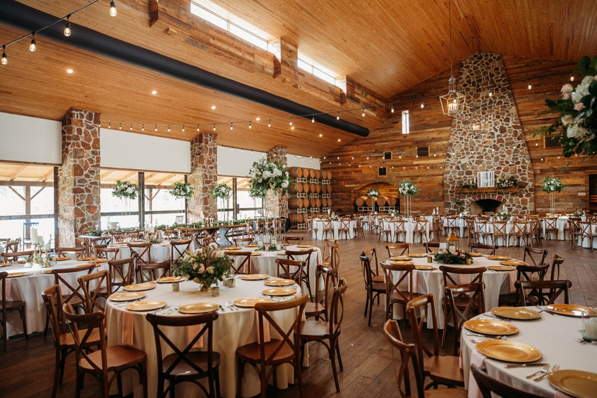 The Vine Houston vineyard wedding venue