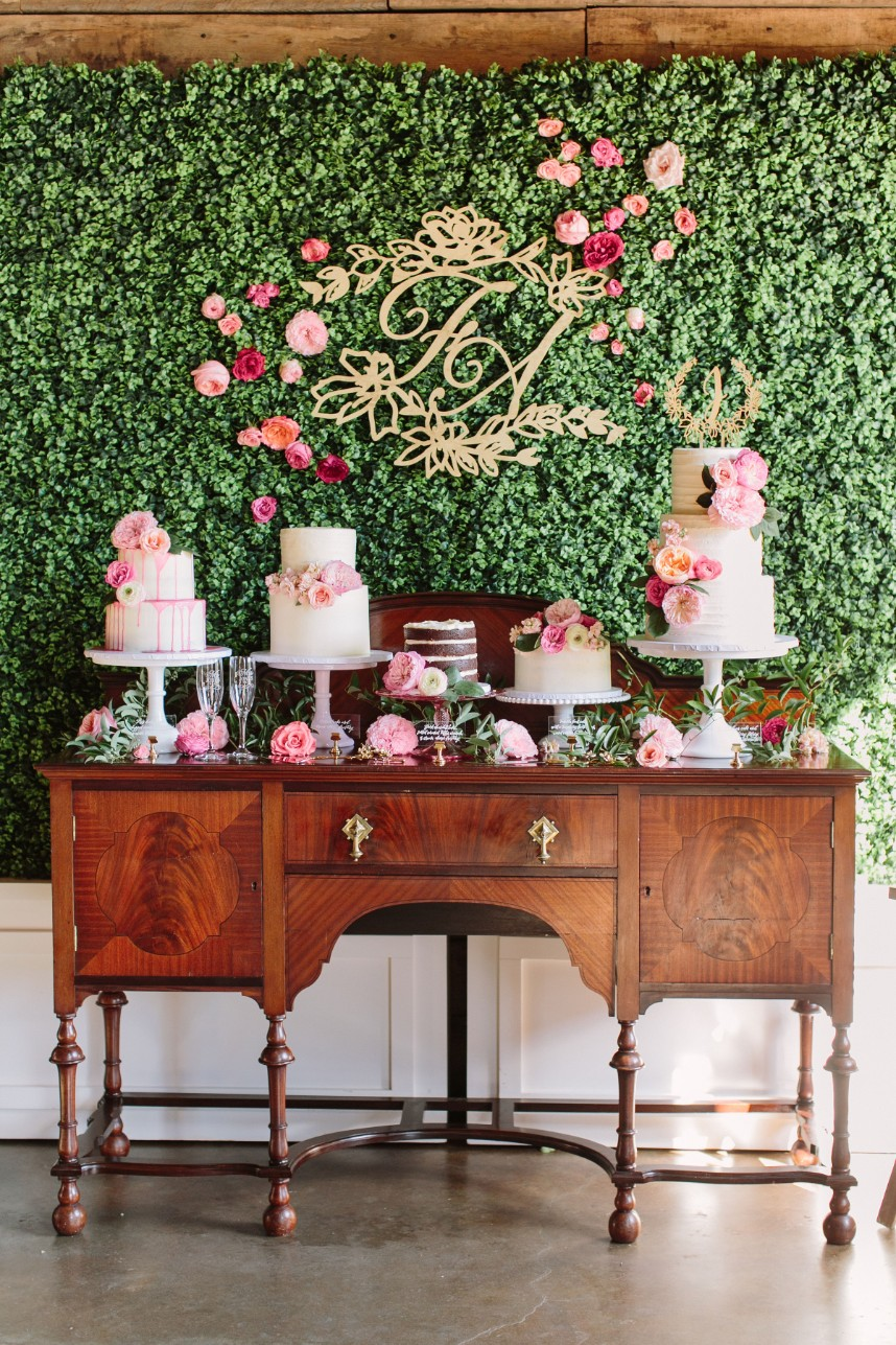 cutest cake table