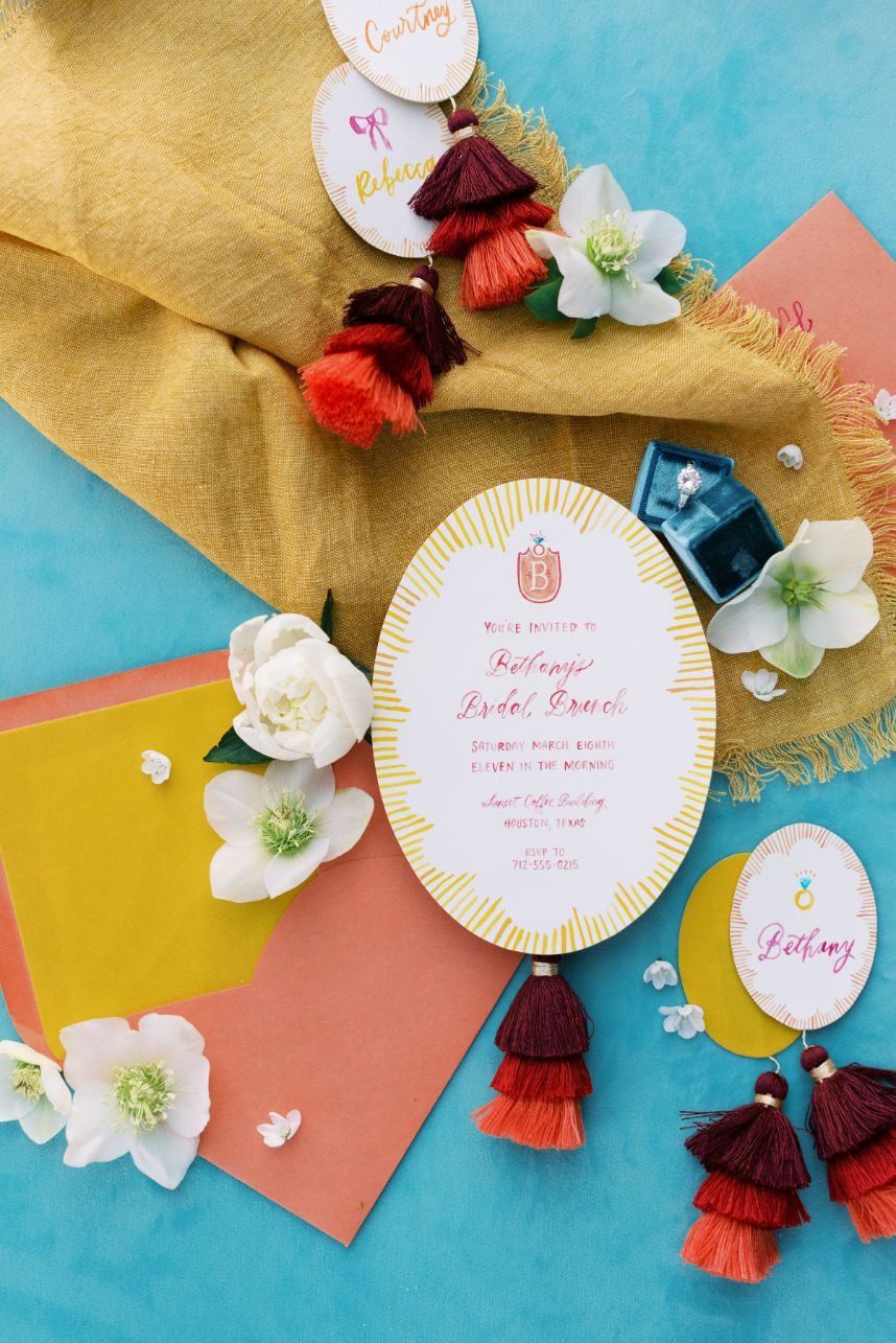 tassel invitation