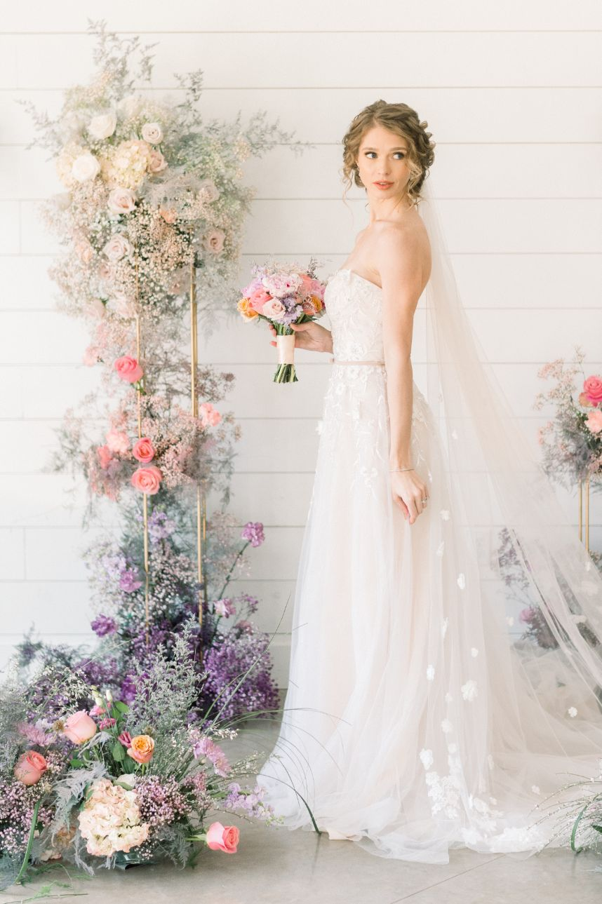 This Spring Garden Wedding Editorial is an Ethereal Dream