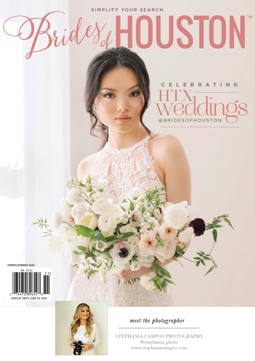brides of houston spring summer 2020 cover