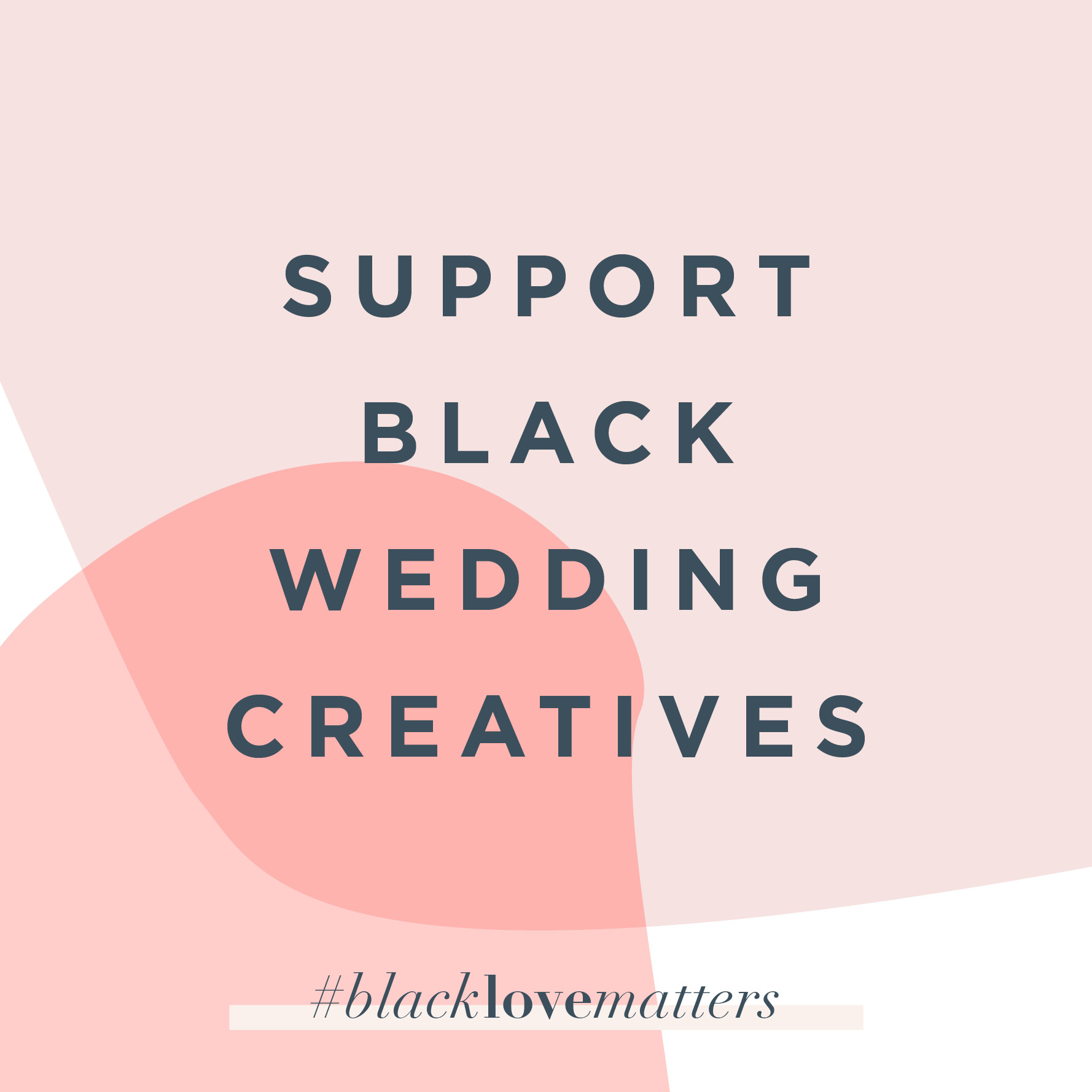 black wedding creatives