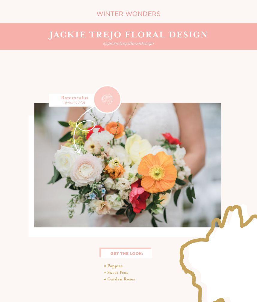 seasonal blooms - which wedding flowers for which season