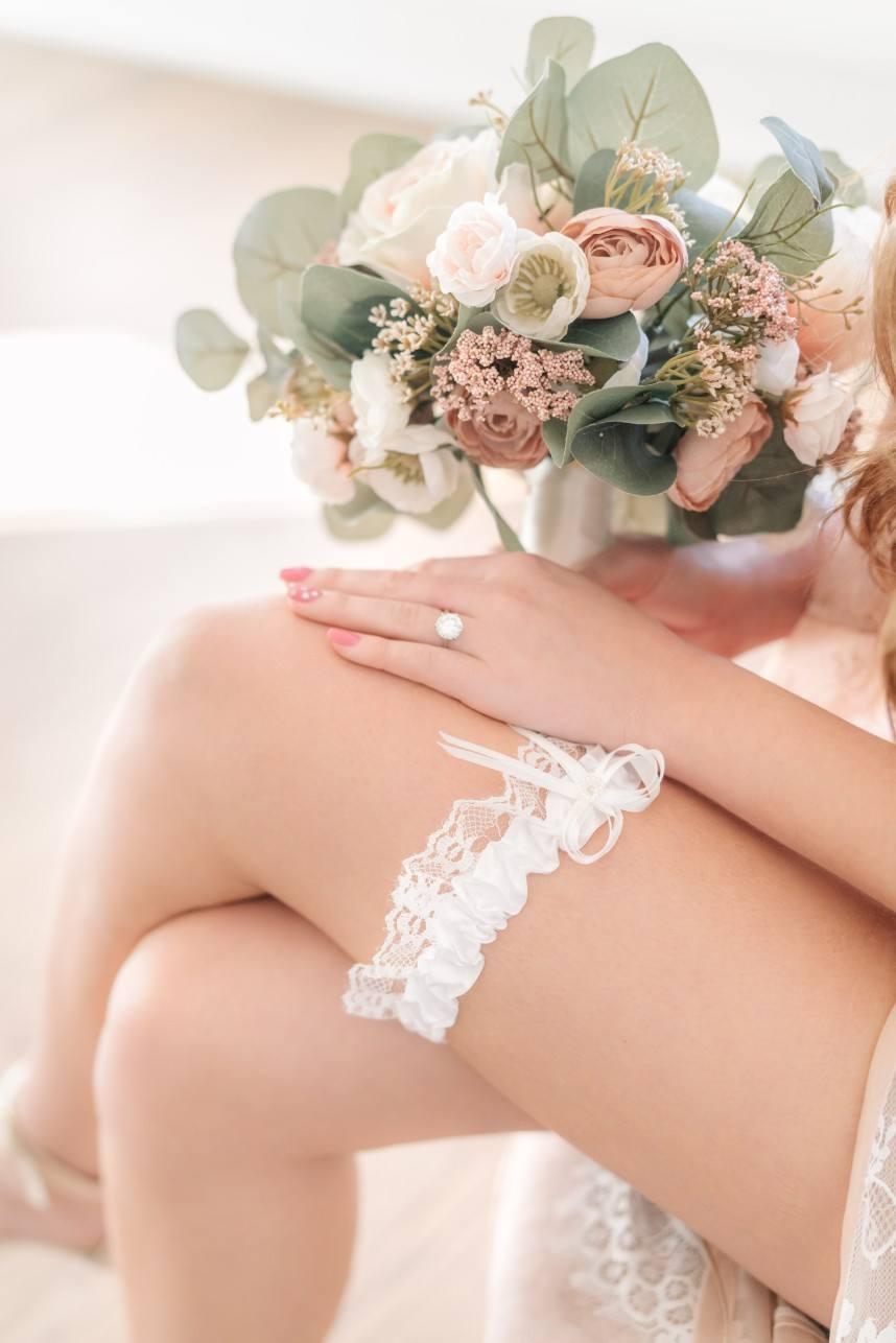 bridal garter + bridal shapewear and lingerie