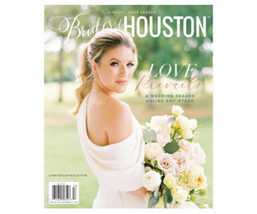 Brides of Houston Fall/Winter 2020 Cover