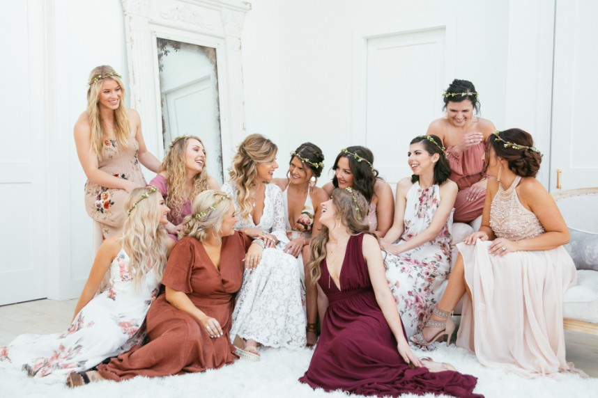 All of the Where, What and How's of Shopping for Your Bridal Party Attire