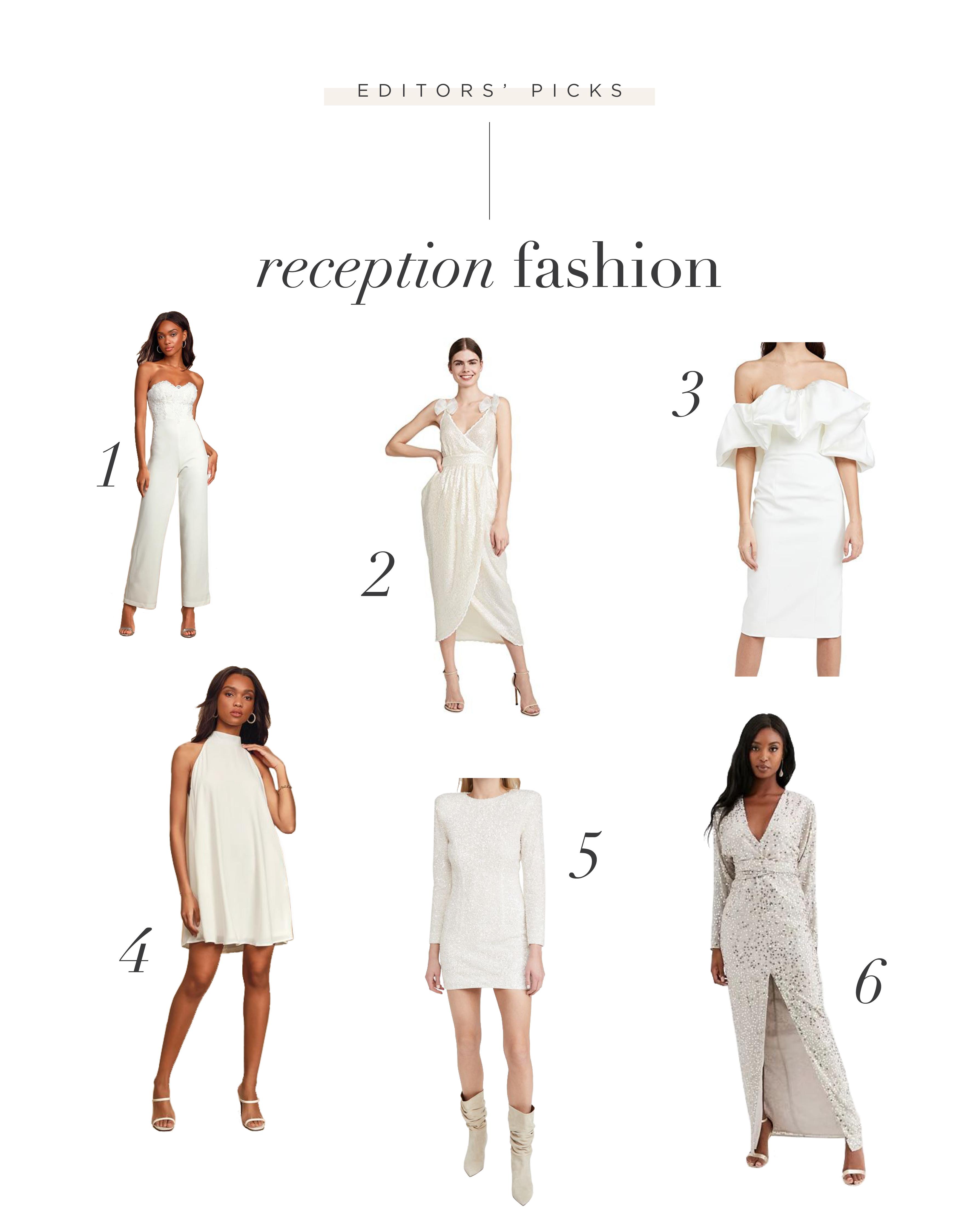 Choosing the Perfect Wedding Reception Fashion + Exit Attire