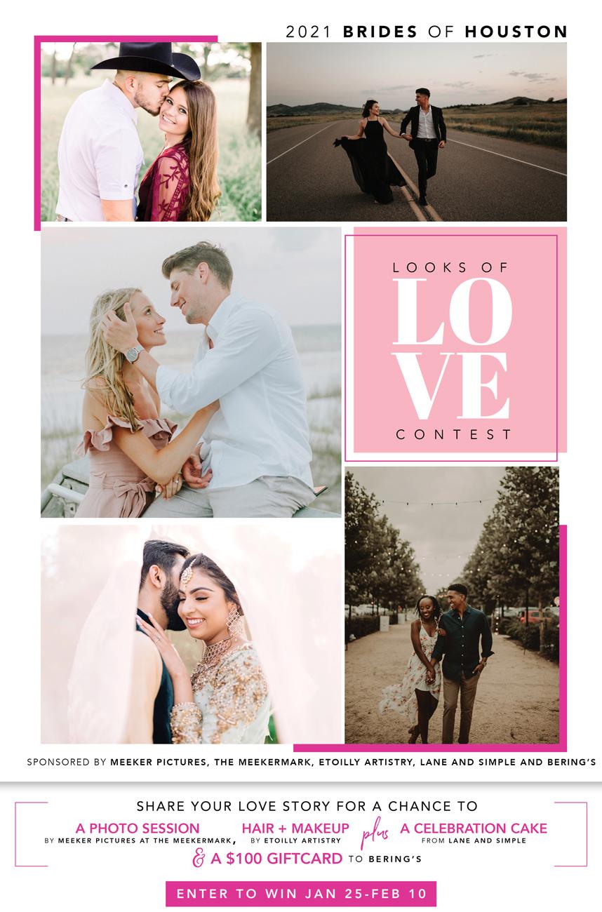 brides of houston 2021 looks of love contest