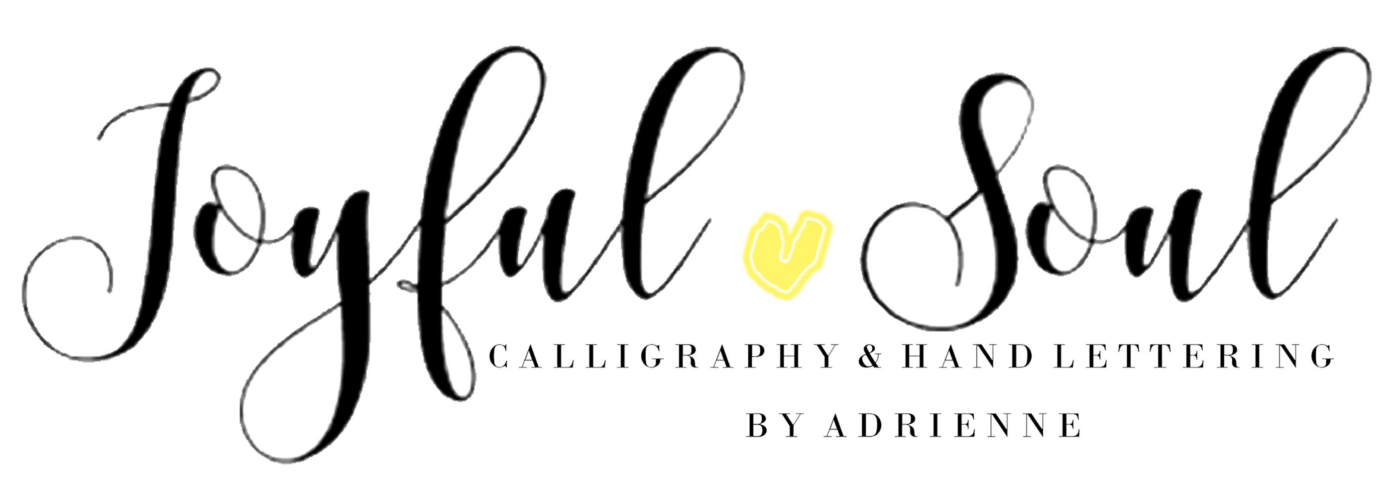 Joyful Soul Calligraphy - Houston Calligraphy, Invitations