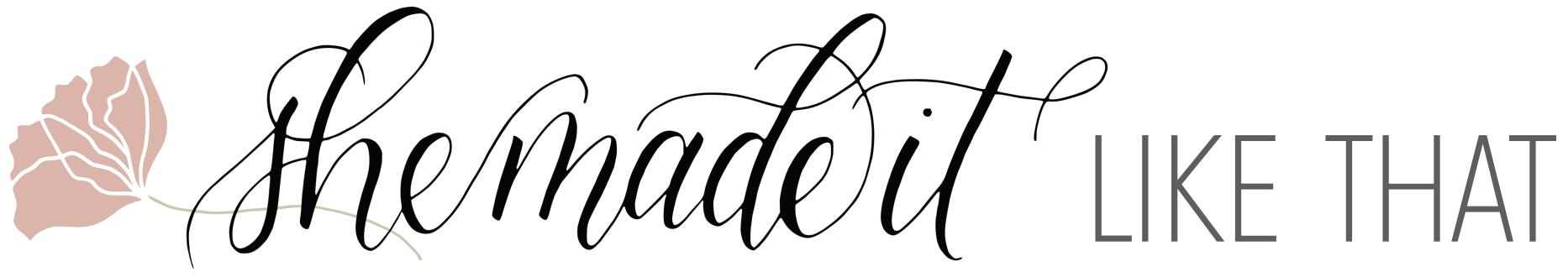 She Made It Like That, LLC - Houston Calligraphy