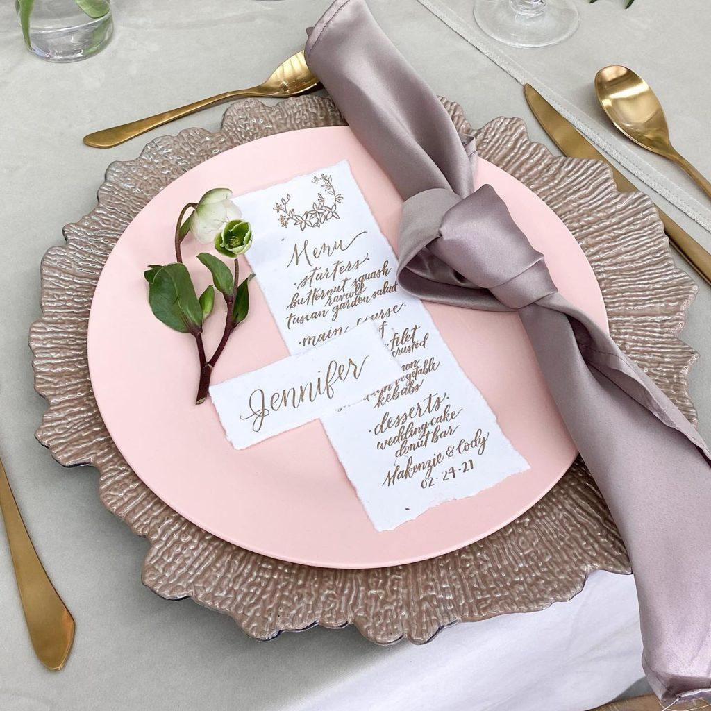 She Made It Like That, LLC - Houston Wedding Calligraphy