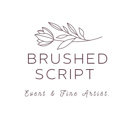 Brushed Script - Houston Entertainment, This + That