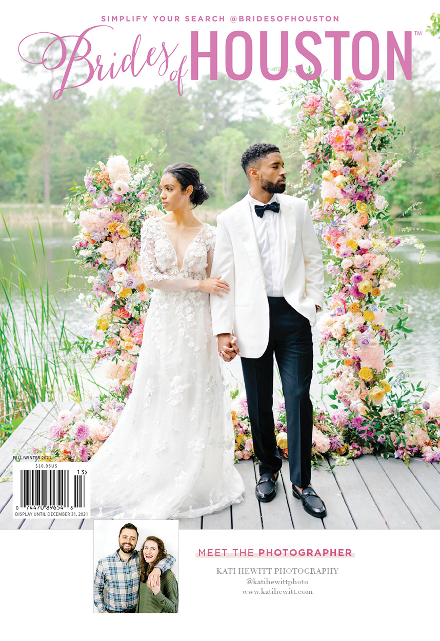 fall/winter 2021 brides of houston cover